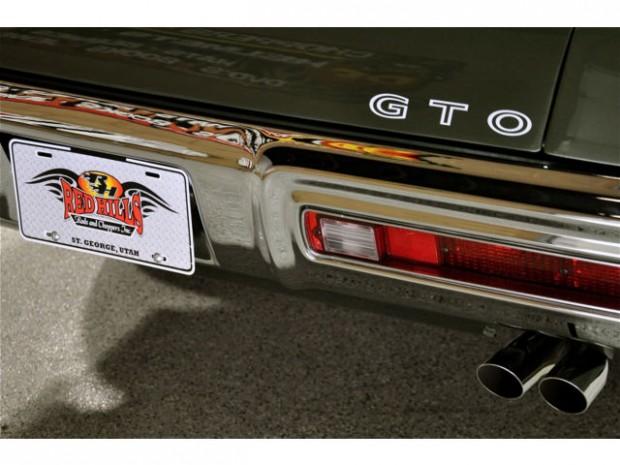 1970 PONTIAC GTO RAM AIR IV 4-Speed, All Numbers Matching-12