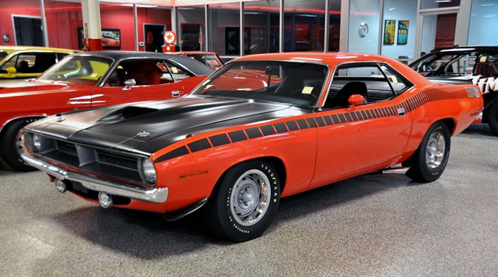 1970-Plymouth-AAR-Barracuda-340-Six-Barrel,-Tor-Red,-1-of-511