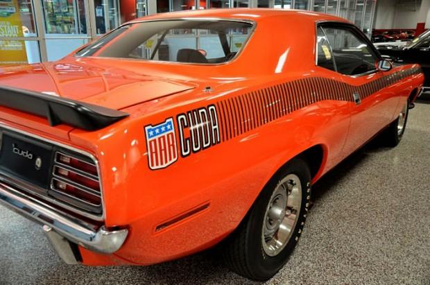 1970-Plymouth-AAR-Barracuda-340-Six-Barrel,-Tor-Red,-1-of-514
