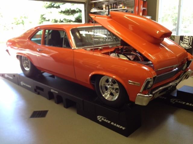 1971 Chevrolet Nova Pro Street 540ci 810hp V8 Turbo 400 Muscle Car