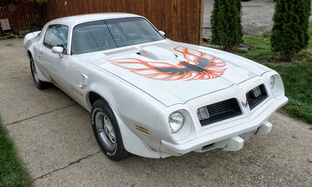 1975 Pontiac Trans Am 4 SPEED