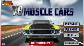 V8 Muscle Cars Game! You Have To Play This!