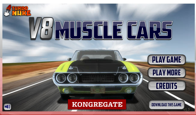 V8 Muscle Cars Game