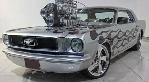 1966 Gary Myers Mustang Twin Supercharged