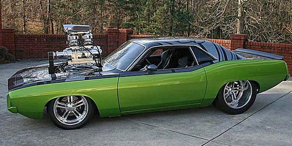 Plymouth Barracuda SuperCharged2