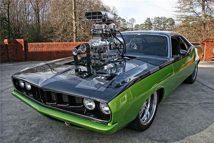 Plymouth Barracuda SuperCharged1