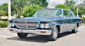 1964 Chrysler 300 K 413 Factory Cross Ram Induction, Rare.