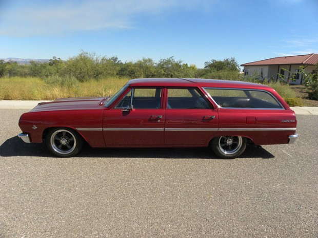 1965-Chevrolet-Malibu-Chevelle,-327-V8,-300-HP,-Holly-4-barrel,-2-Speed-Power-Glide13