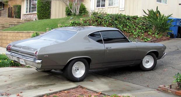 1969 Chevrolet Chevelle LT1 350 4 bolt Turbo 350, Garaged Since 19842