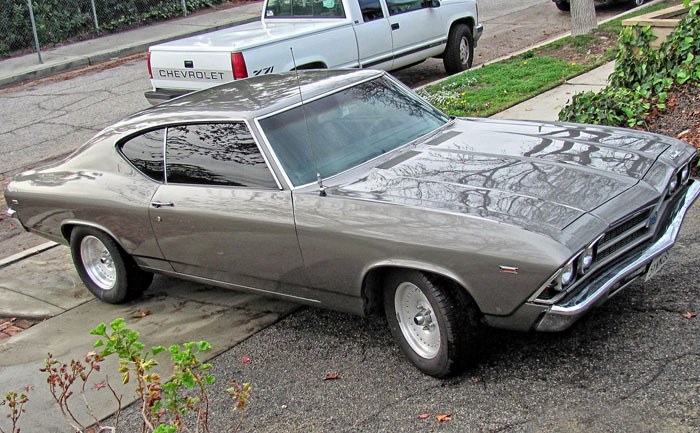 1969 Chevrolet Chevelle LT1 350 4 bolt Turbo 350, Garaged Since 19841