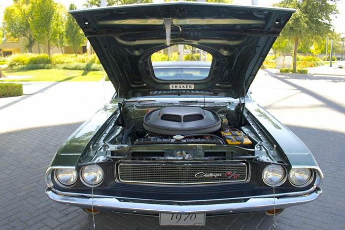 1970 Dodge Challenger R/T 440 Sixpack Shaker 4 Speed Dana E87/N963