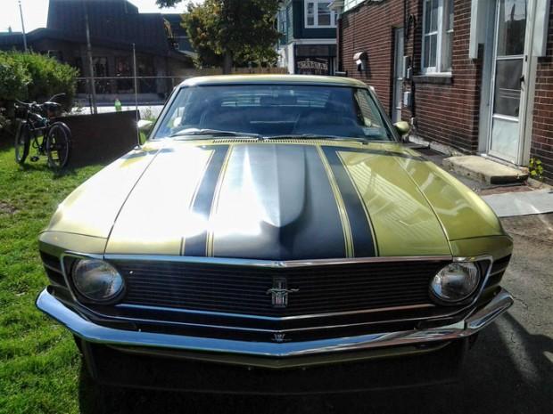 1970-Ford-Mustang-Boss-302,-4-Speed,-Green-Metallic,-All-Orginal21