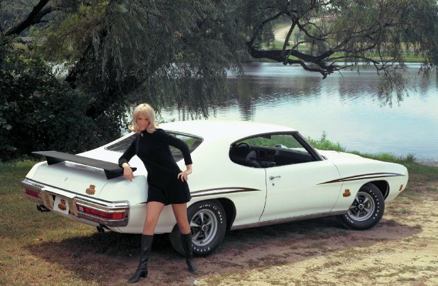 1970 Pontiac GTO Judge Girl