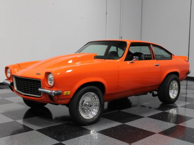 1972 Chevrolet Vega 350 V8, 4 Speed, 292 Comp. Cam., Resto Mod-134