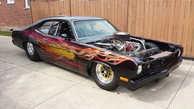 1973 Plymouth Duster Pro Street 528ci, 727, 700HP1