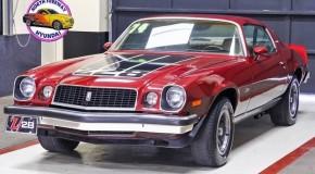1974 Chevrolet Camaro Z28 LT 4 Speed