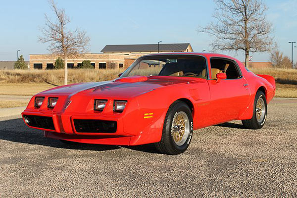 1979 Pontiac Trans Am WS-6 Suspension Package, Numbers Matching.