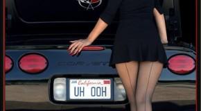 Corvette Girl By Iain Boyle.