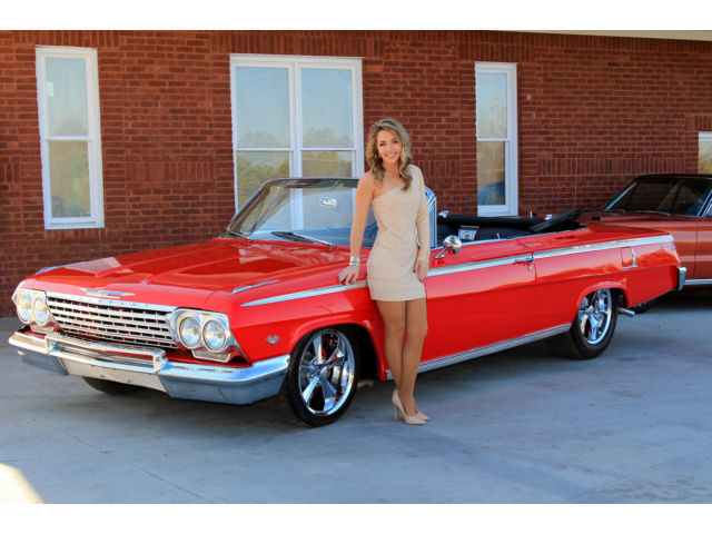 1962 Chevrolet Impala Convertible 327 Automatic