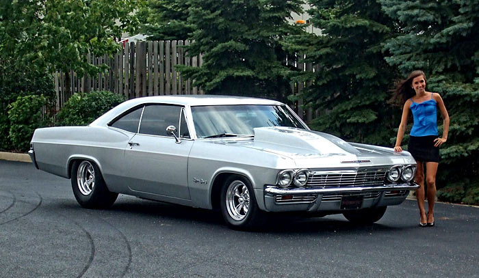 1965 Impala Ss 468 C I By Frank Finger Muscle Car