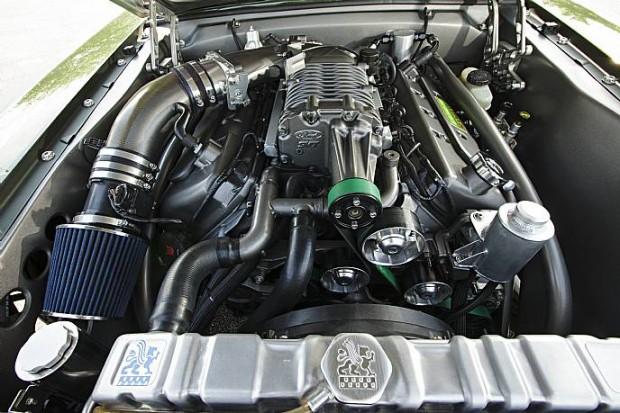 1966 Ford Mustang SEMA Show Car-1