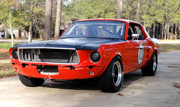 1967 Ford Mustang Vintage Group 2 Race Car, SVRA,CVAR, RMVR1