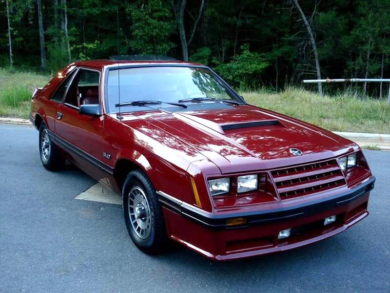 1986 Mustang Coupe W Straight Six By Jeffrey Lloyd
