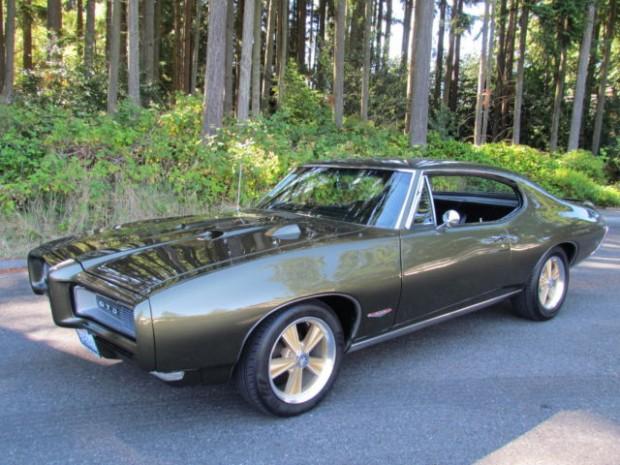 1968 Pontiac GTO Matching Numbers 400, 242 GTO, QQ Veldoro Green