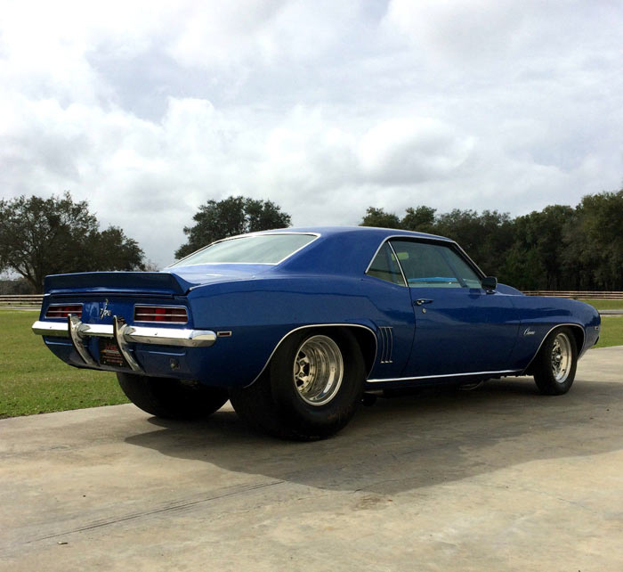 1969 Chevrolet Camaro Rs Z28 Pro Street Muscle Car
