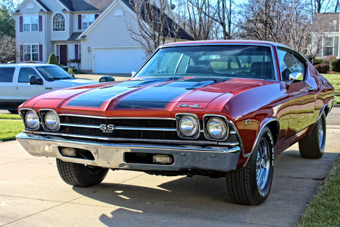 1969 Chevrolet Chevelle Malibu 454 BIG BLOCK MONSTER1