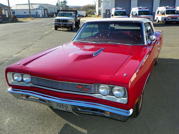 1969 Dodge Coronet RT CONVERTIBLE1