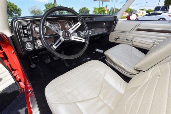 1970 Oldsmobile 442 455CI. 4-Spd Matador Red, 3.23 rear7