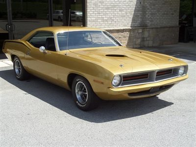 1970 Plymouth Barracuda 383 CUDA