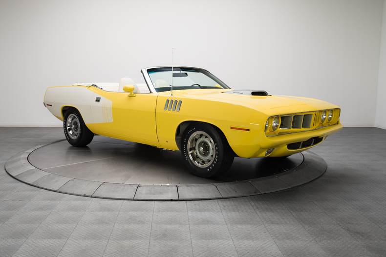 1971 Plymouth Barracuda 426 Dual Quad HEMI V8 4 Speed Dana 602