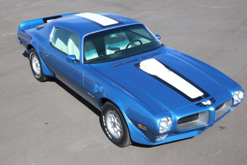 1971 Pontiac Trans Am 455 HO 4 Speed