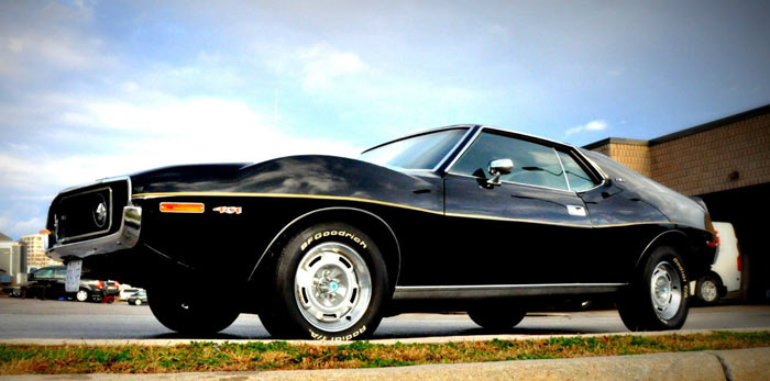 1972 AMC Javelin AMX 401ci T10 4 speed