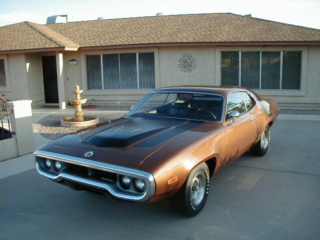 1972 Plymouth Road Runner GTX, THE LAST FACTORY TRACK PAK CAR