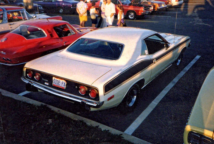 1973-Plymouth-Cuda-340-By-Phil-Sgro