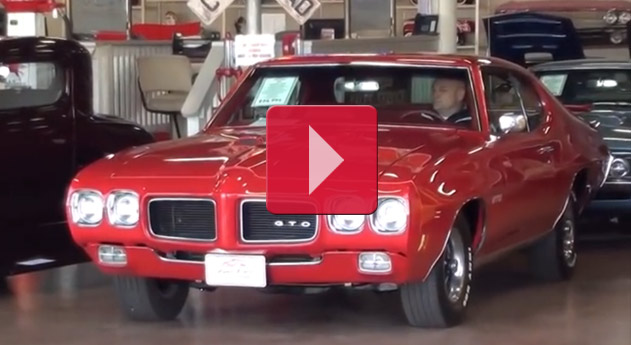 Test Driving 1970 Pontiac GTO 400 V8 Muscle Car