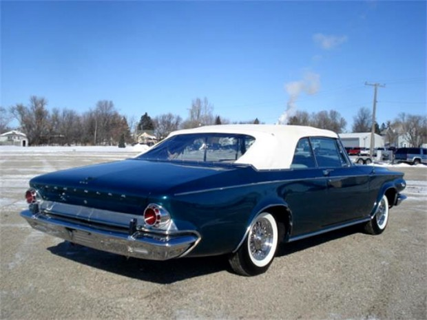 1963 Chrysler 300 Series Pacesetter Edition Convertible 4138