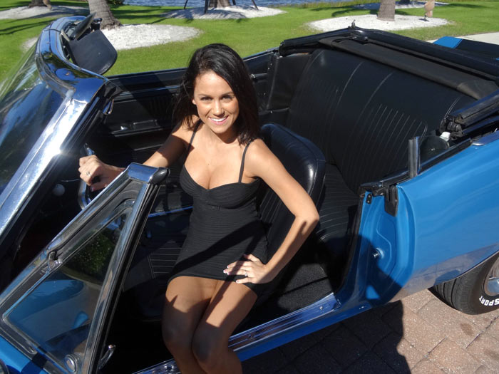 1967 Chevrolet Camaro Convertible Girl1
