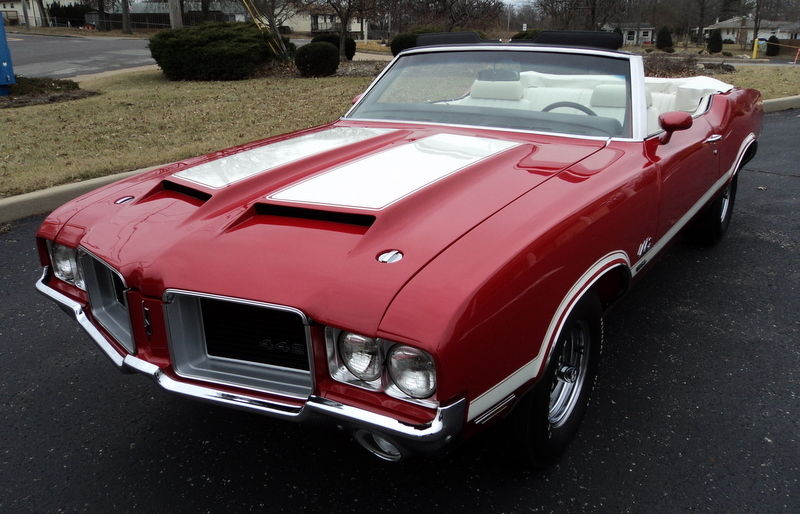 1971 Oldsmobile 442 W30 MATCHING-1