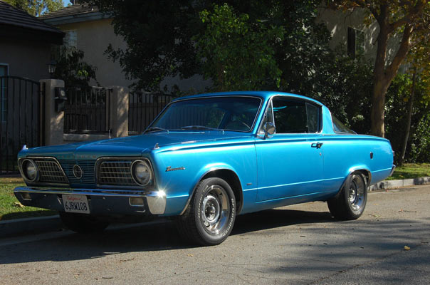 Pick Of The Day, 1966 Plymouth Barracuda 340 Classic  - Muscle Car