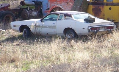 73 Charger just going to rust