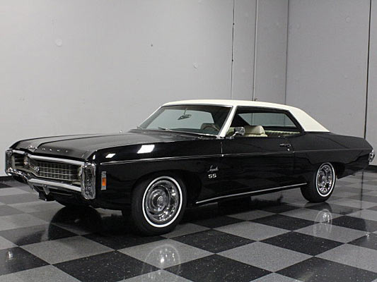 buy of the day 1969 chevrolet impala ss muscle car. Black Bedroom Furniture Sets. Home Design Ideas
