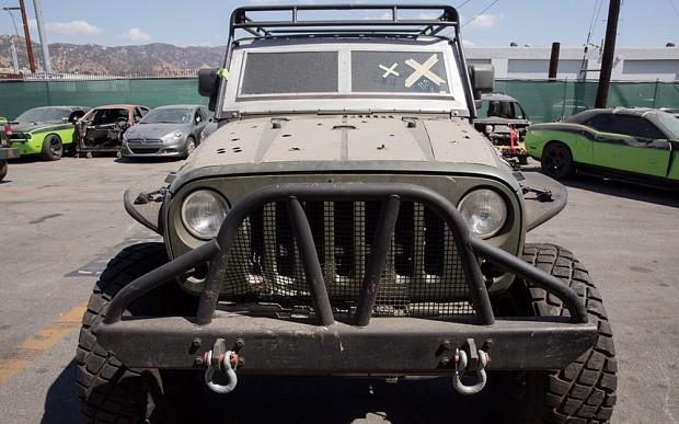 Armored 2015 Jeep Wrangler Rubicon X 2014