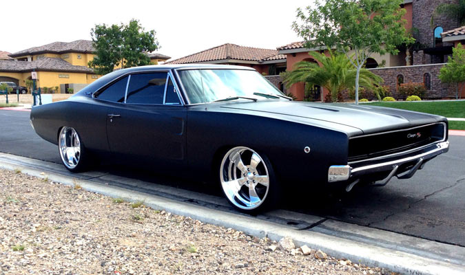 1968 Dodge Charger R T 440 Restored Muscle Car