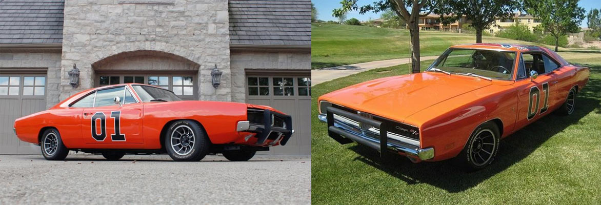 find of the day two 1969 dodge chargers 39 dukes of hazzard 39 compared muscle car. Black Bedroom Furniture Sets. Home Design Ideas