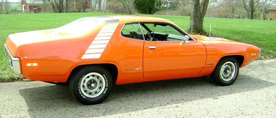 1972 Plymouth Road Runner 440 Very Rare Muscle Car