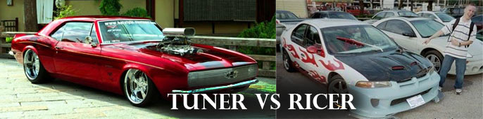 Actual Tuners Vs Ricers Muscle Car